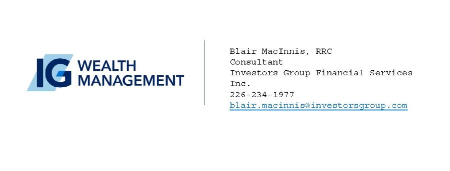 IG Wealth Management: Blair MacInnis